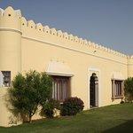 Front view of Fateh vilas - Hudeel