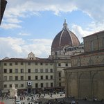 The Duomo and street below.....