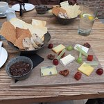 The five cheese board lunch