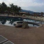 Kids pool overlooking the bay