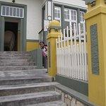 Eingang zum Woermannhaus
