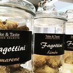 Galletas Fagottini italianas.