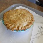 Pot pie big enough to share for $8.99