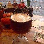 Cozy atmosphere, good food and craft beers