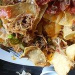 Unloaded loaded nachos