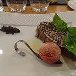 filet de daurade royale pané aux graines de sésame blanc et noir
