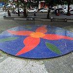 Mosaico no Espaço Cultural Luís Jardim