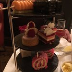 Afternoon tea at Hotel Cafe a Royal - Oct 2016