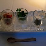 Communal (osetra, king crab, condiments)