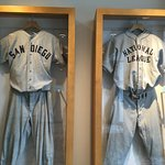 walk the hallways near the pool for baseball history