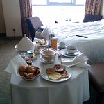 Room service breakfast for one... A must to try!