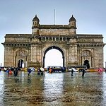 Gateway of India in rainy season