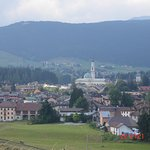 View of asiago town