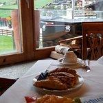 Aussicht vom Frühstück