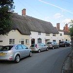 Bretforton Village from pub area