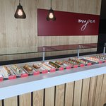 Over 30 varieties of sushi to choose from!