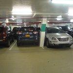 Basement parking garage - tight!