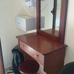 Dressing table in room