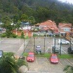 Vista desde el balcón del hotel