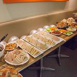 Biscuit Cafe do great buffets for private functions