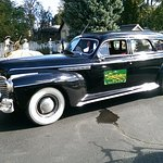 Vintage 1941 Buick limo at the Lamplighter.
