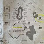 Karte Garten und Strand