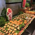 Mexican night Buffet spread superb