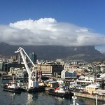 Table Mountain in the mist