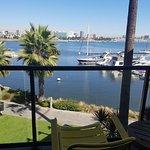 View from building 4, 3rd floor, ocean view, balcony room