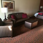 Very Spacious room - King with sofa bed