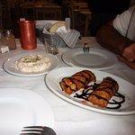 Les feuilletés aubergines-bacon-feta