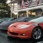 Front parking during Corvette weekend