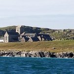 The Abbey on Iona, as seen from the ferry