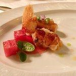 Bretonischer Hummer Wassermelone & Yuzu
