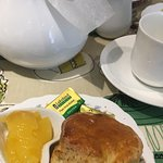 Lemon and poppy seed scone