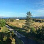 View north towards Raasay and Applecross peninsula.