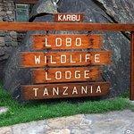Eingang zur Lobo Wildlife Lodge