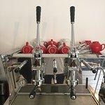 Award winning coffee made on our traditional Italian Espresso Press