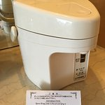 A Japanese kettle