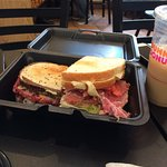 The size of these sandwiches is amazing & worth every penny!