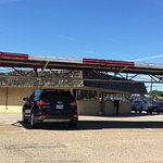 Car hop awning & restaurant