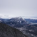 One of the views from Sulphur Mountain