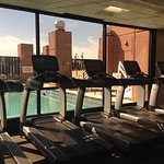 Westin Workout Fitness Studio with view of pool