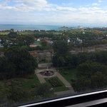 View from Room 1213 of Lake Michigan