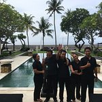 The amazing staff
