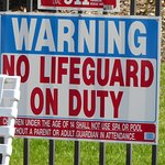 No lifeguard on duty in the jacuzzi. What on earth shall we do?