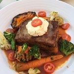 Hearty veggie lunch!