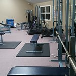 Lots of nice equipment in the fitness area!