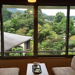 zen garden view room