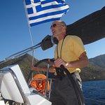 "Crusing Saronic Gulf, Oct. 2016, ""Genie"" Beneteau 37"